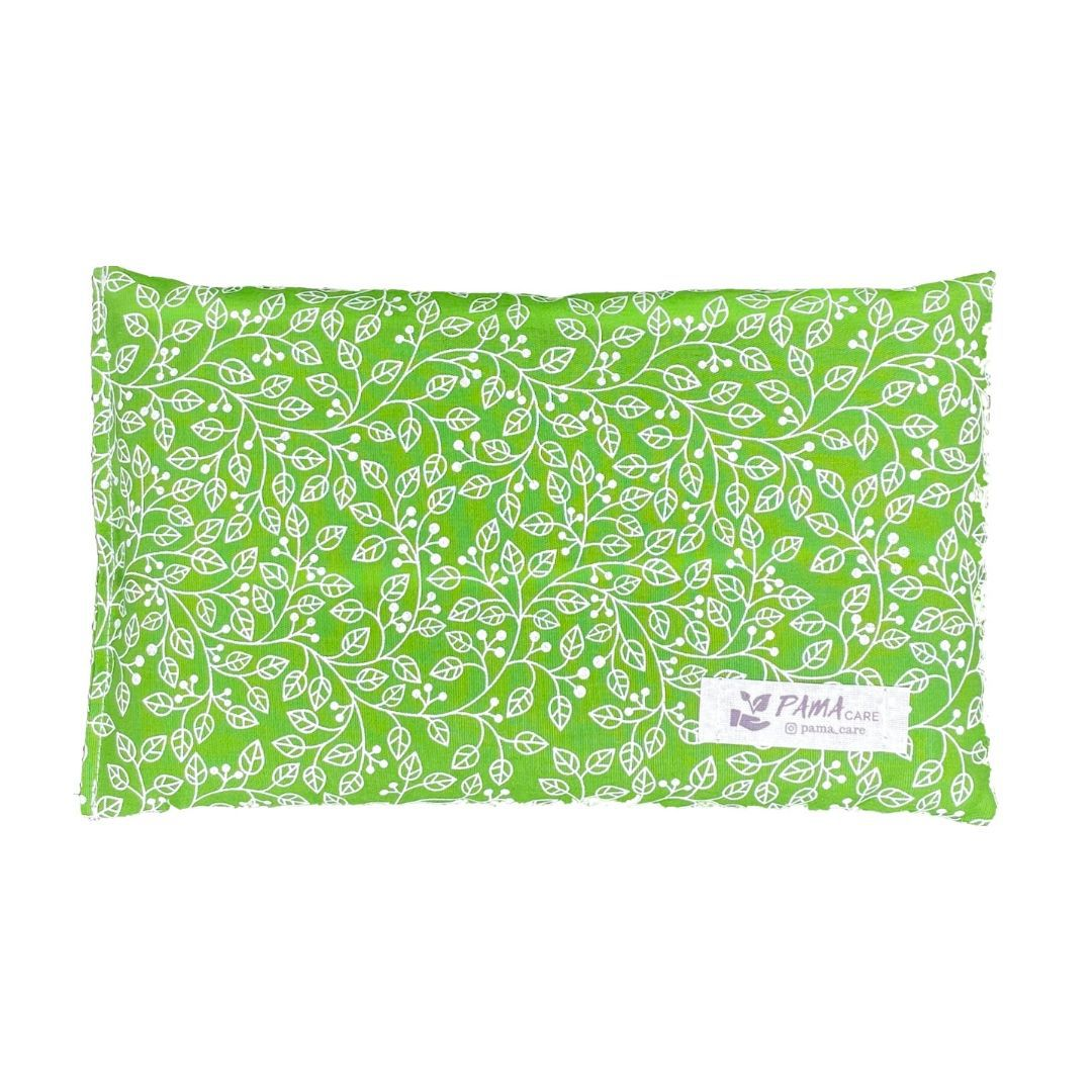 Almofada Térmica de Sementes e Ervas - Essencial Verde