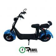 Reavel Elétricos Modelo S2 | 1500W | Camuflado Azul