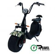 Reavel Elétricos Modelo S2 | 1500W | Camuflado Verde