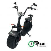 Reavel Elétricos Modelo S2 | 1500W | Carbone com Banco Circular