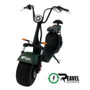 Reavel Elétricos Modelo S2 | 1500W | Verde Militar Fosco