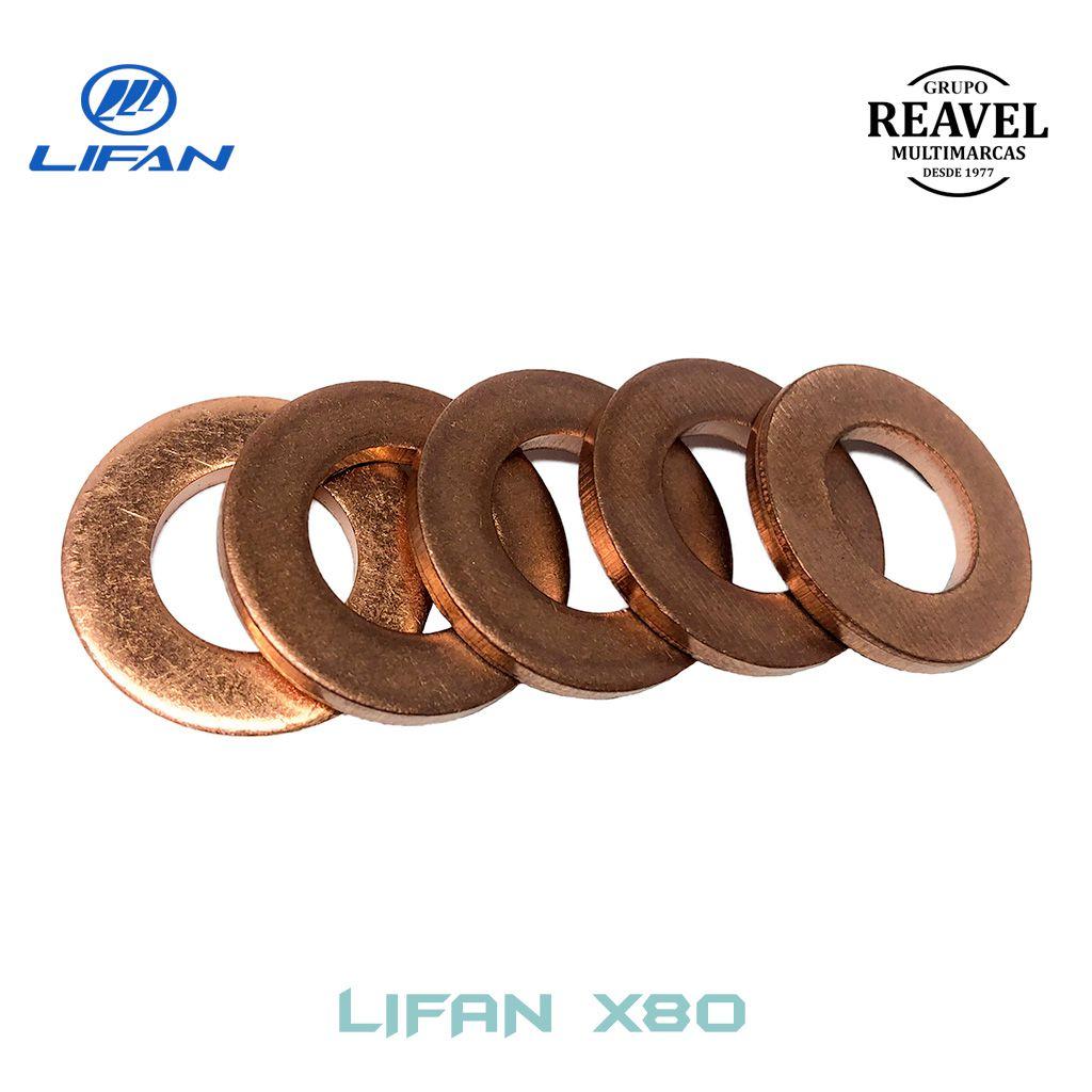 Arruela do Bujão de Drenagem do Óleo - Lifan X80