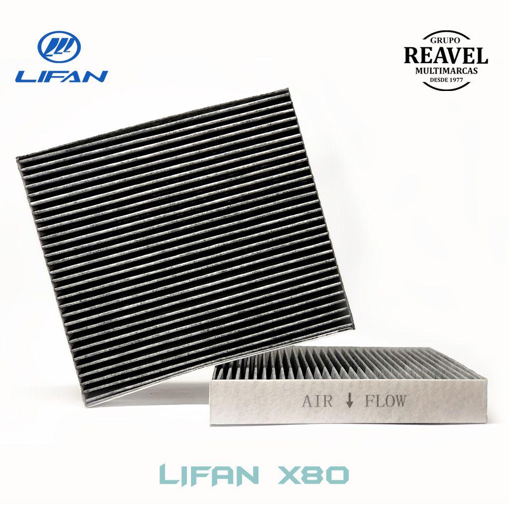 Cobertura do Filtro de Ar Condicionado - Lifan X80