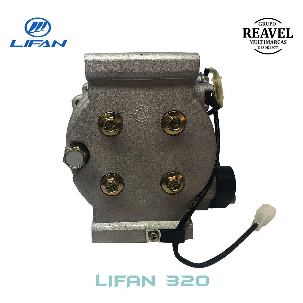 Compressor do Ar Condicionado - Lifan 320