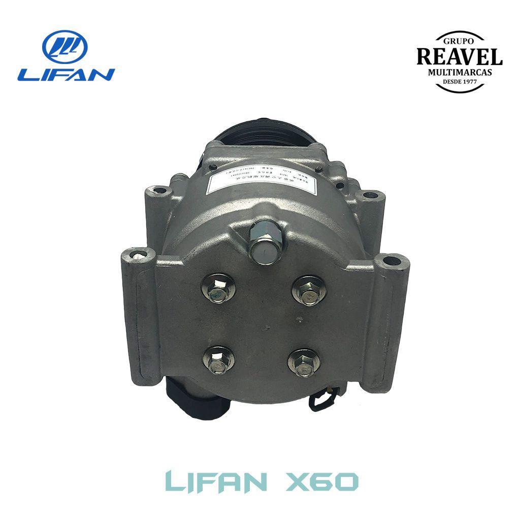 Compressor do Ar Condicionado - Lifan X60