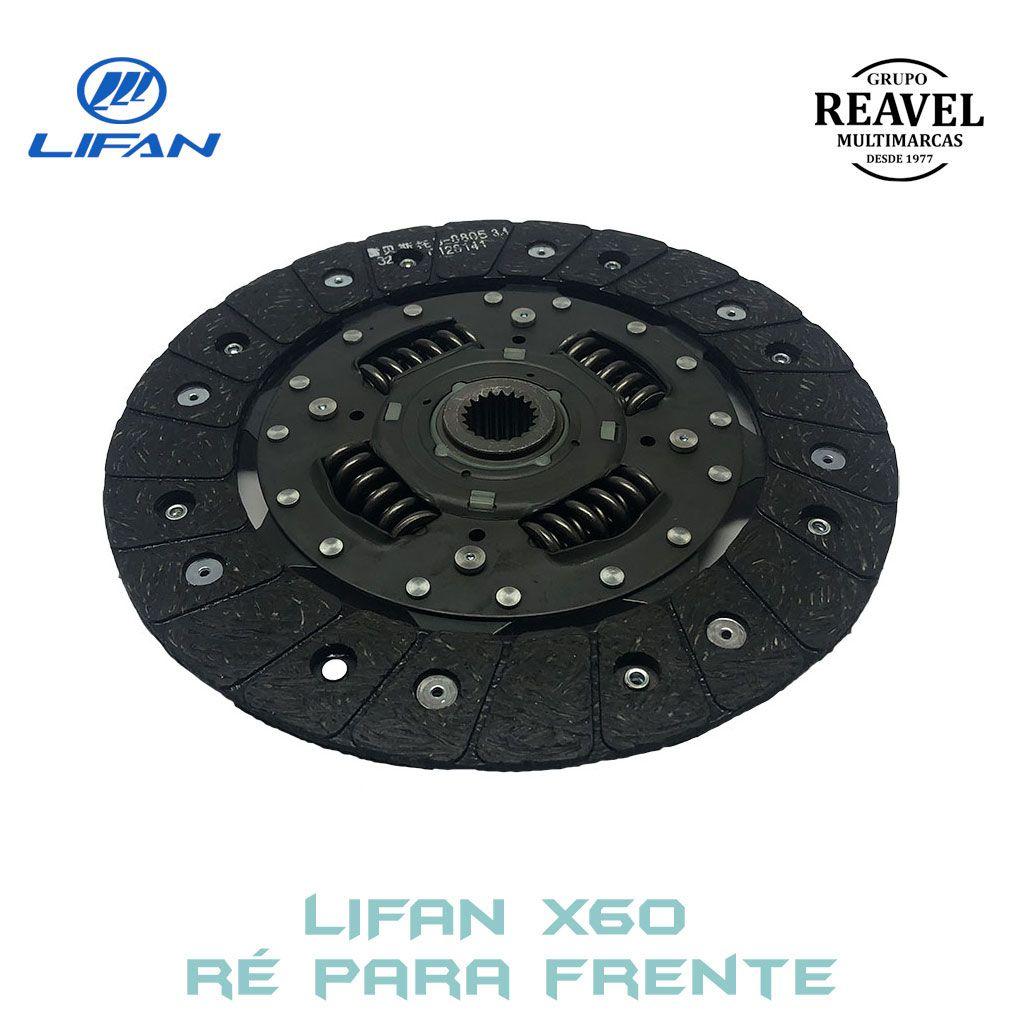 Disco de Embreagem Lifan X60 - Ré Para Frente