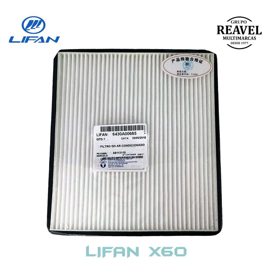Filtro do Ar Condicionado - Lifan X60