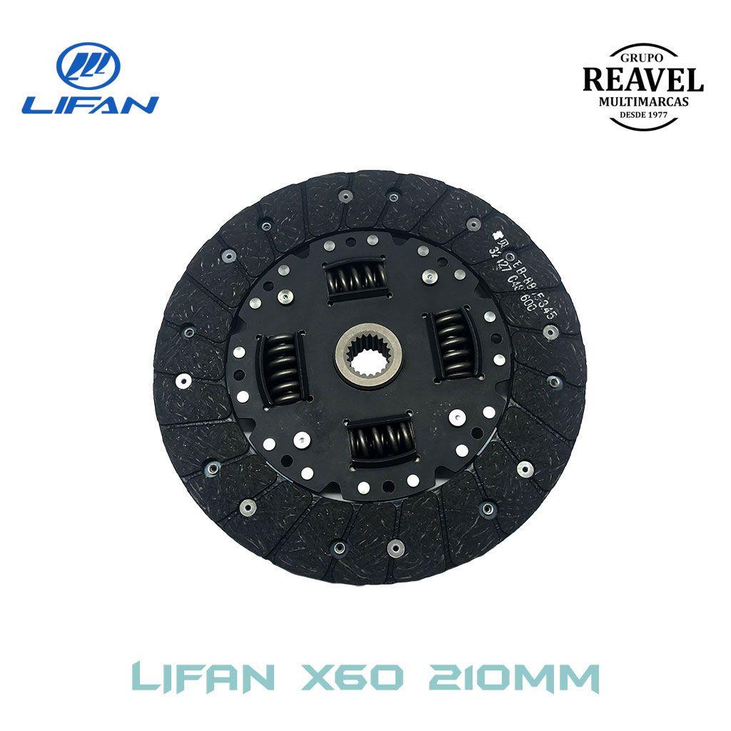 Kit de Embreagem Lifan X60 Ré Para Trás (210MM)