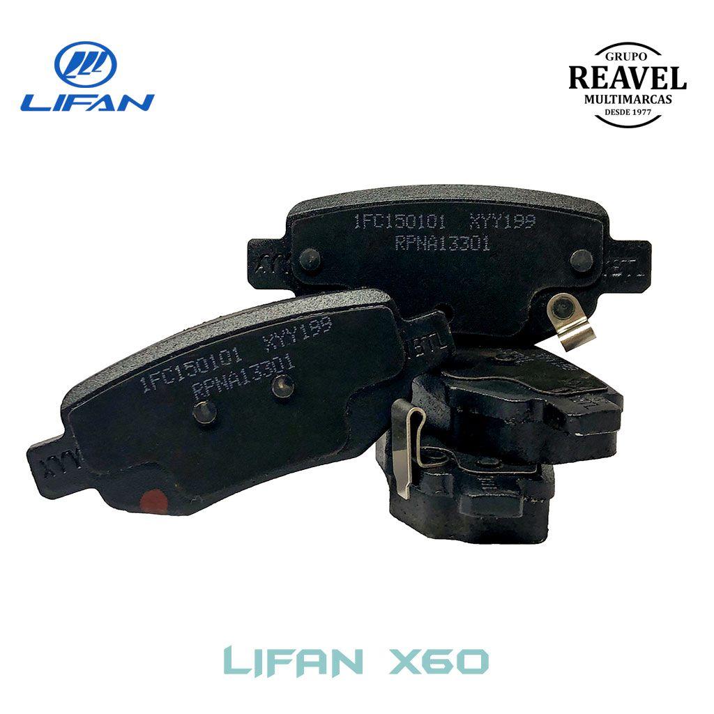 Kit de Pastilha de Freio Traseiro - Lifan X60