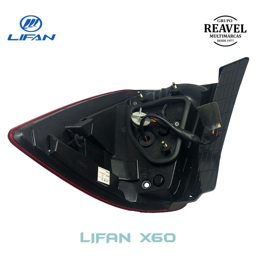 Lanterna Traseira Esquerda - Lifan X60
