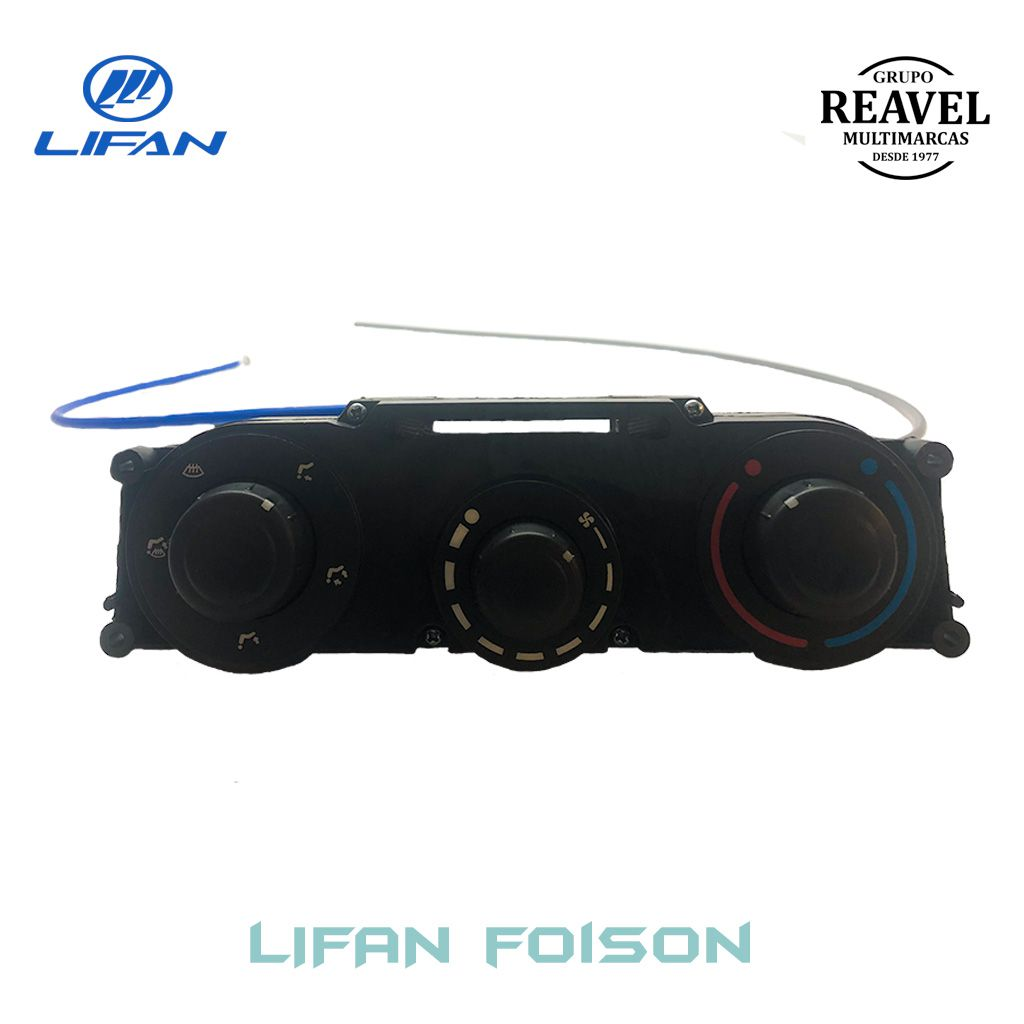 Painel do Controle do Ar Condicionado - Lifan Foison