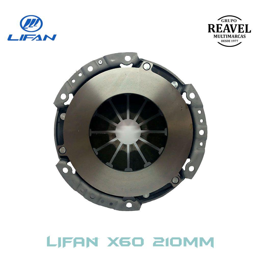 Plato de Embreagem (210MM) - Lifan X60 Ré Para Trás