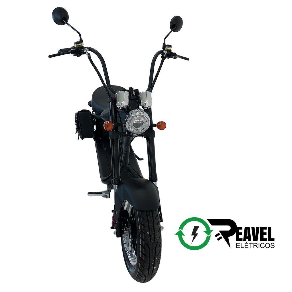 Reavel Elétricos Modelo S1 | 2500W | Preto Fosco