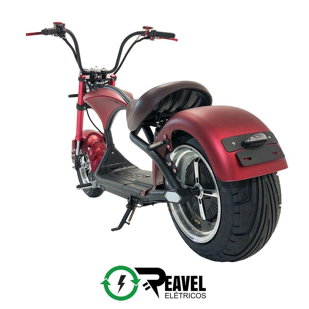 Reavel Elétricos Modelo S1 | 2500W | Vermelha