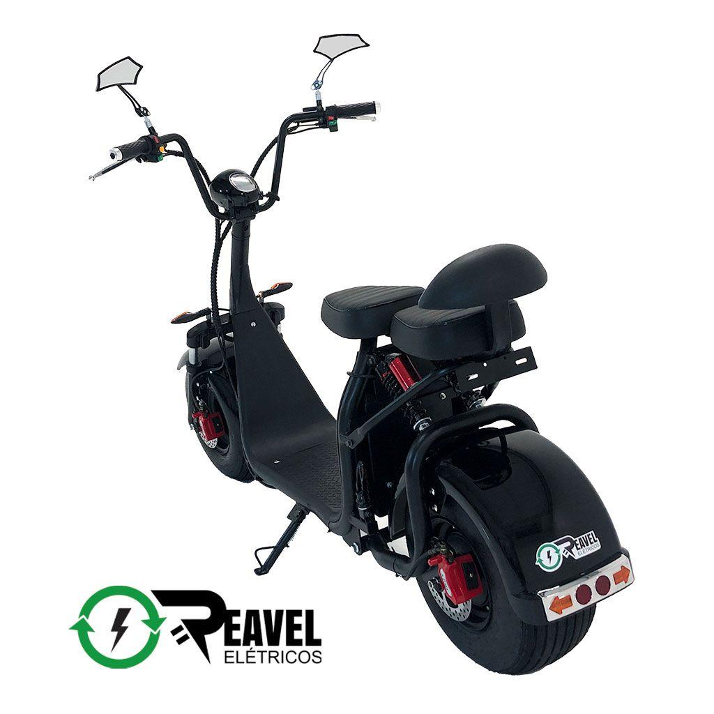 Reavel Elétricos Modelo S2 | 1500W | Preto