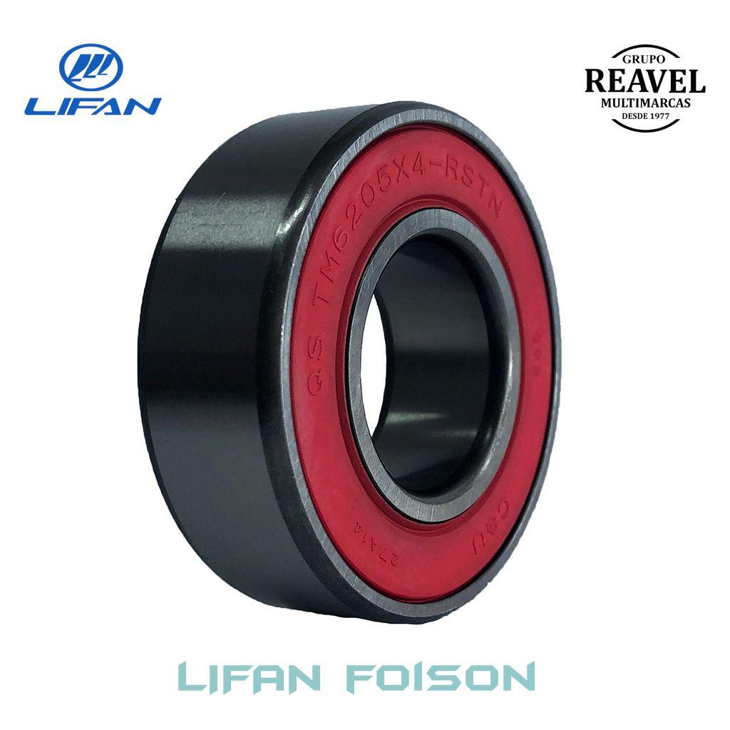 Rolamento do Eixo de Entrada Frontal - Lifan Foison