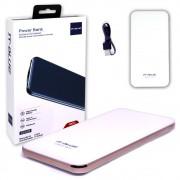 Bateria Portátil Externa Power Bank 10000mAh 22401 It-Blue com Portas Tipo C Micro Usb e Usb Branca