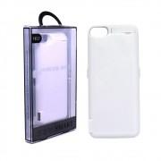 Capa Carregadora Bateria Portátil Externa Power Bank para iPhone 6, 6S, 7 e 8 Usb Lighthing Branca