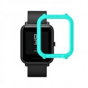 Capa Case Bumper Esportiva Para Proteção Xiaomi Huami Amazfit Bip Azul Turquesa