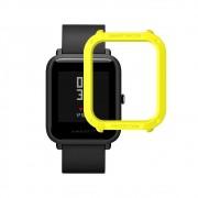 Capa Case Bumper Esportiva Para Proteção Xiaomi Huami Amazfit Bip Verde Fluorescente