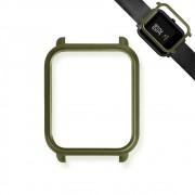 Capa Case Bumper Para Proteção Xiaomi Huami Amazfit Bip Verde Musgo