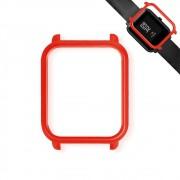 Capa Case Bumper Para Proteção Xiaomi Huami Amazfit Bip Vermelha