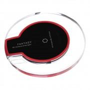 Carregador Smartphone Sem Fio por Indução Universal Preto Fantasy Qi Standard