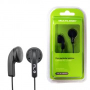 Fone de Ouvido Auricular P2 PH006 Multilaser 3,5mm Plug Universal Potente