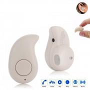 Fone Ouvido S530 Auricular Sem Fio Bluetooth 4.0 Mini Com Microfone Bege