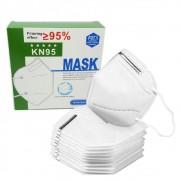 KIT 10 Máscara Respirador Original Pff2 N95 Sem Valvula