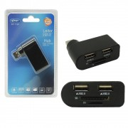 Leitor de Cartão Sd Mini Sd TF Hub Porta Usb 2.0 Pc Notebook