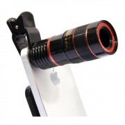 Lente Zoom Objetiva P/ Smartphone Mobile Phone Telescope 8x