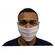 Mascara Descartável De Tnt Duplo Camada  Kit 100 Unidades
