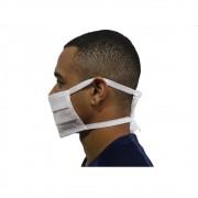 Máscara Descartável Tnt Dupla Amarra Respiratória Saúde 40un