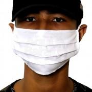 Máscara Tecido Respiratória Lavável Reutilizável Kit 5un