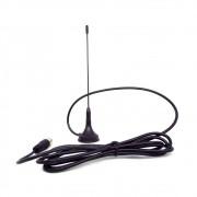 Mini Antena Interna  para TV Digital LE-3094-14 Lelong HDTV UHF VHF Cabo Coaxial 1,5 Metro