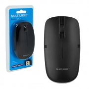 Mouse Sem Fio Wireless 1200dpi 2.4GHz PC Notebook Slim Preto