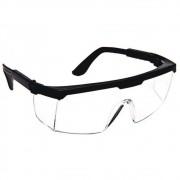 Óculos de Proteção Epi Anti Gotículas Transparente Ajustável