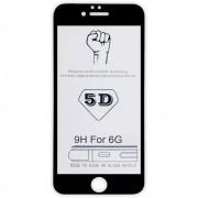 Película 5D de Vidro Proteção Para Iphone 6 6G e 6S Celular Smartphone Preta