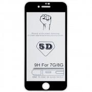 Película 5D de Vidro Proteção Para Iphone 7 e 8 Celular Smartphone Preta