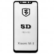 Película 5D de Vidro Proteção Para Xiaomi Mi 8 Celular Smartphone