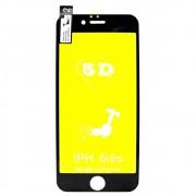 Película 5d Nano Gel Proteção Para Iphone 6 6G e 6S Celular Smartphone Preto