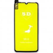 Película 5d Nano Gel Proteção Para Xiaomi Mi 9 Celular Smartphone Preta