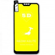 Película 5d Nano Gel Proteção Para Xiaomi Mi A2 Lite Celular Smartphone Preta