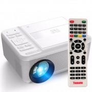 Projetor Led 700 Lumens C/ Dvd Av Hdmi Vga Usb MicroSD 1080p MTM-7010