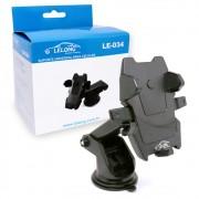 Suporte Celular Veicular Universal LE-034 Lelong Ventosa Braço Extensor Ajustável
