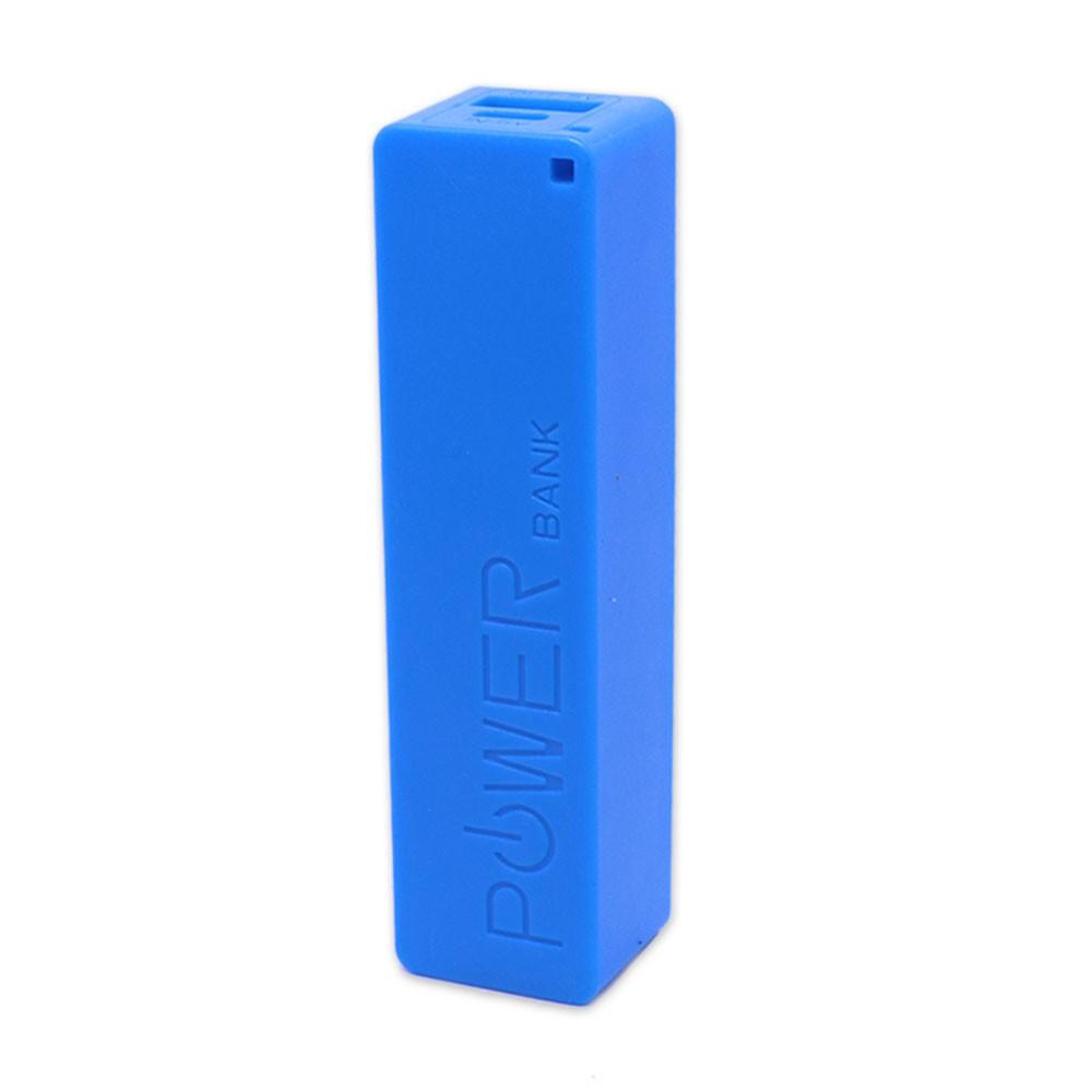 Bateria Portátil Externa Power Bank 2200mAh CB078 Smartogo Multilaser Usb Celular Tablet Azul