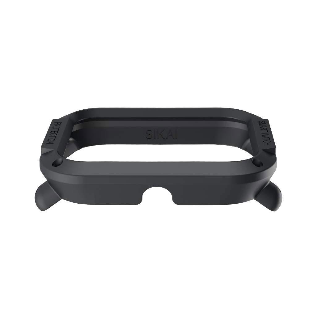 Capa Case Bumper Esportiva Para Proteção Xiaomi Huami Amazfit Bip Preta