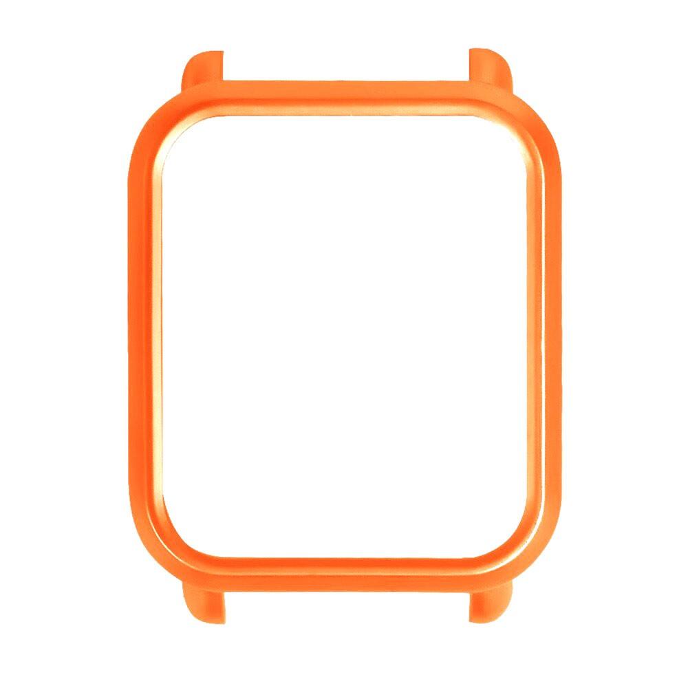 Capa Case Bumper Para Proteção Xiaomi Huami Amazfit Bip Laranja