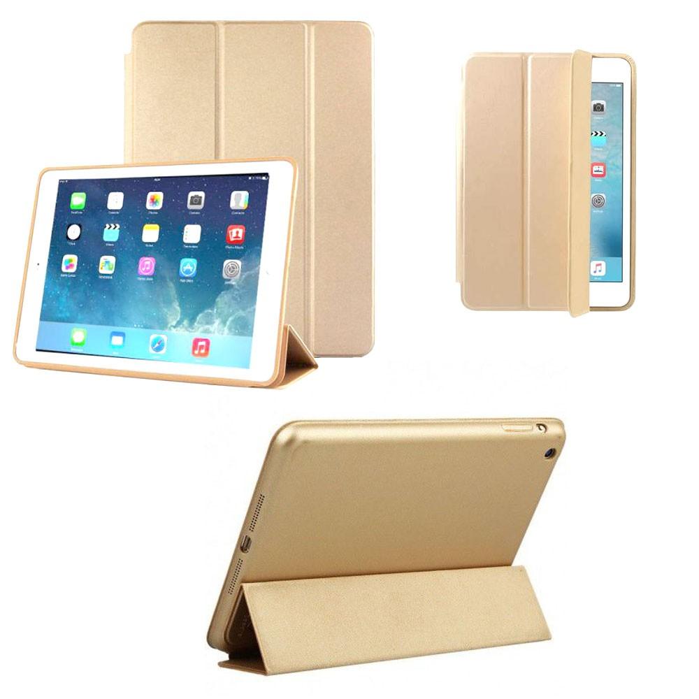 Capa Tablet Ipad  2 3 4 HMaston Case Smart Cover Traseira Dourada